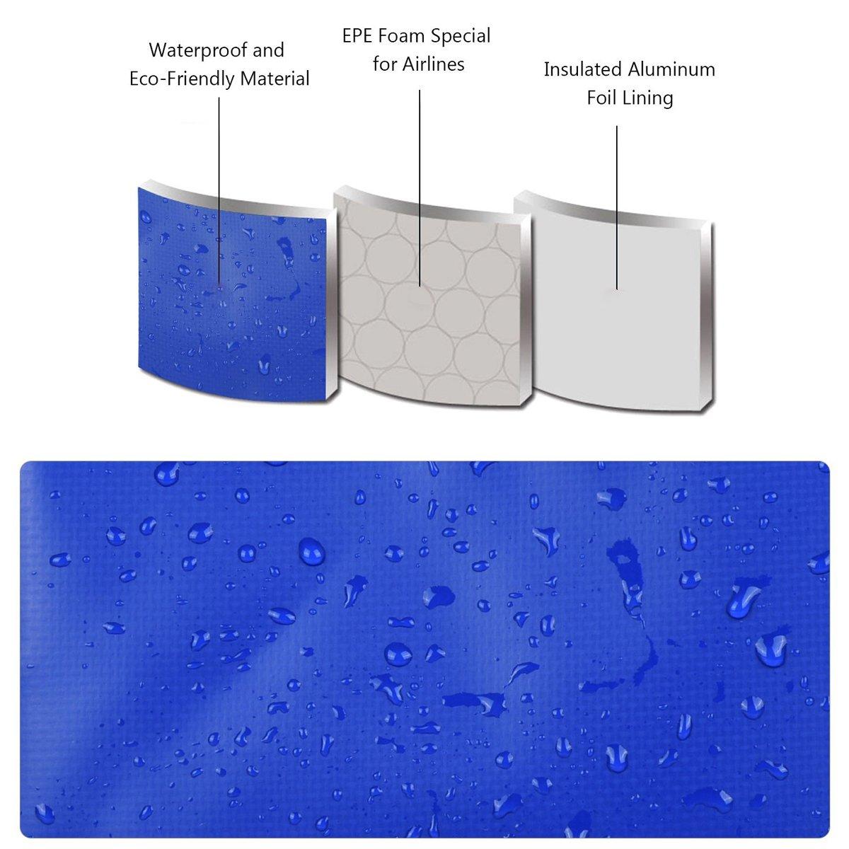 Amazon.com: ONEGenug impermeable bolsa enfriadora de ...