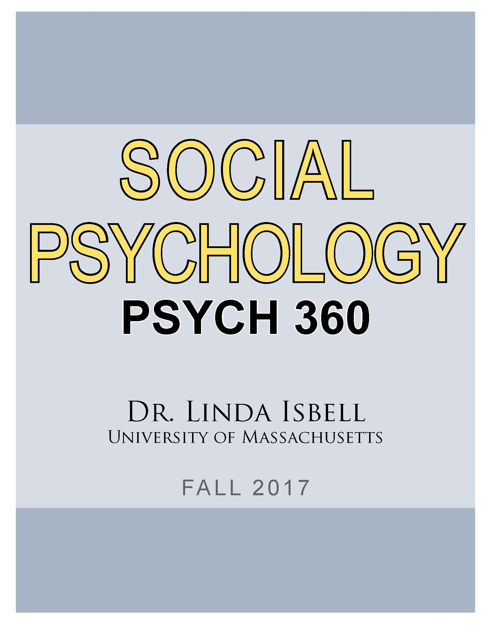 Download Social Psychology PDF