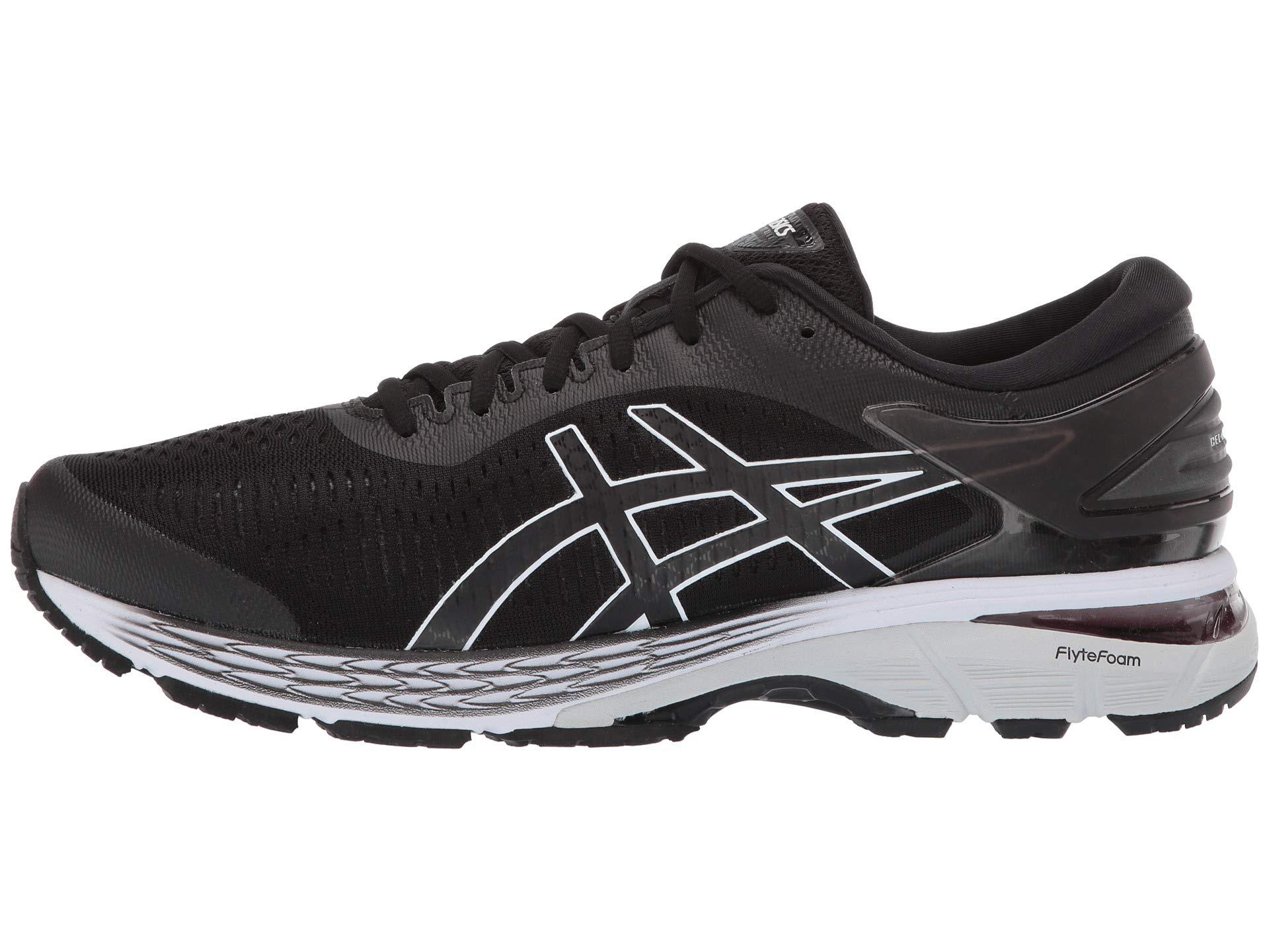 ASICS Gel Kayano 25 Men's Running Shoe, Black/Glacier Grey, 6.5 D US by ASICS (Image #6)