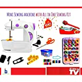 Sewing Machines for Home Portable Sewing Kit for Stiching with Thread Set