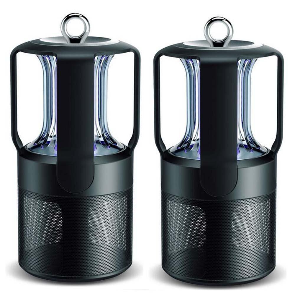 Photokatalysator-Moskito-Lampe 2 PC-LED, Wanzen-Zapper, ultra-leise, keine StrahlungInsect-Mörder-Lampe, USB-Aufladungs-tragbarer Umweltschutz-elektronischer Insekten-Mörder für Innen- / im Freien