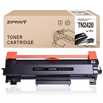 ZIPRINT Negro Toner MIT Chip Compatible Brother TN2420 TN-2420 ...