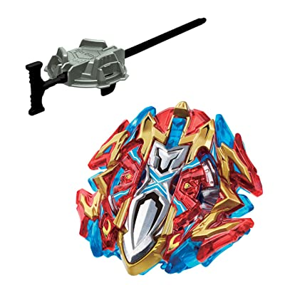 Takaratomy Beyblade Burst B-120 Xcalibur.1'.Sw CHO-Z Layer System Attack Starter with Launcher: Toys & Games