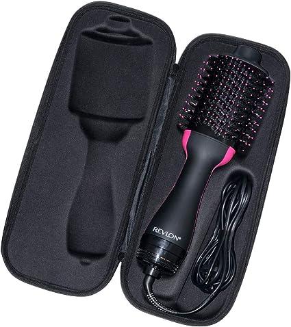 Brappo Duro Viaggio Caso per Revlon RVDR5222 Salon One Step Hair Asciugacapelli e Volumizzante (Nero)
