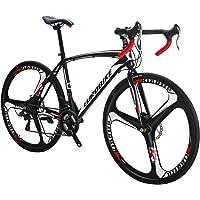 Eurobike Vélo de route Xc55021speed Shimano Gears Route Vélo double Frein à disque pour vélo