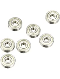 Amico a13061400ux0831 10-Piece 625ZZ 5mm x 16mm x 5mm Shielded Deep Groove Radial Ball Bearing