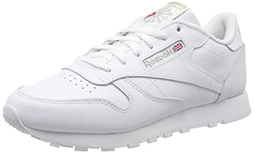 347dd3677d3 Reebok Women s Classic Leather Low-Top Sneakers White  Amazon.co.uk ...