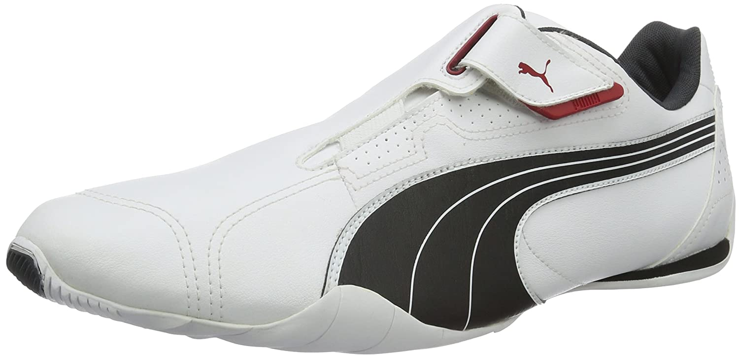 Baskets Mode Mixte Adulte Puma Redon Move-White-Black-Ribbon Red Silver-Dark Shadow