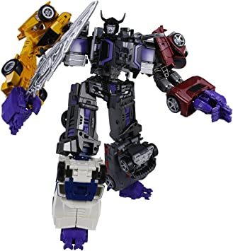 Used Takara Tomy Transformers Unite Warriors UW02 Menasor Menazoru Figure Japan