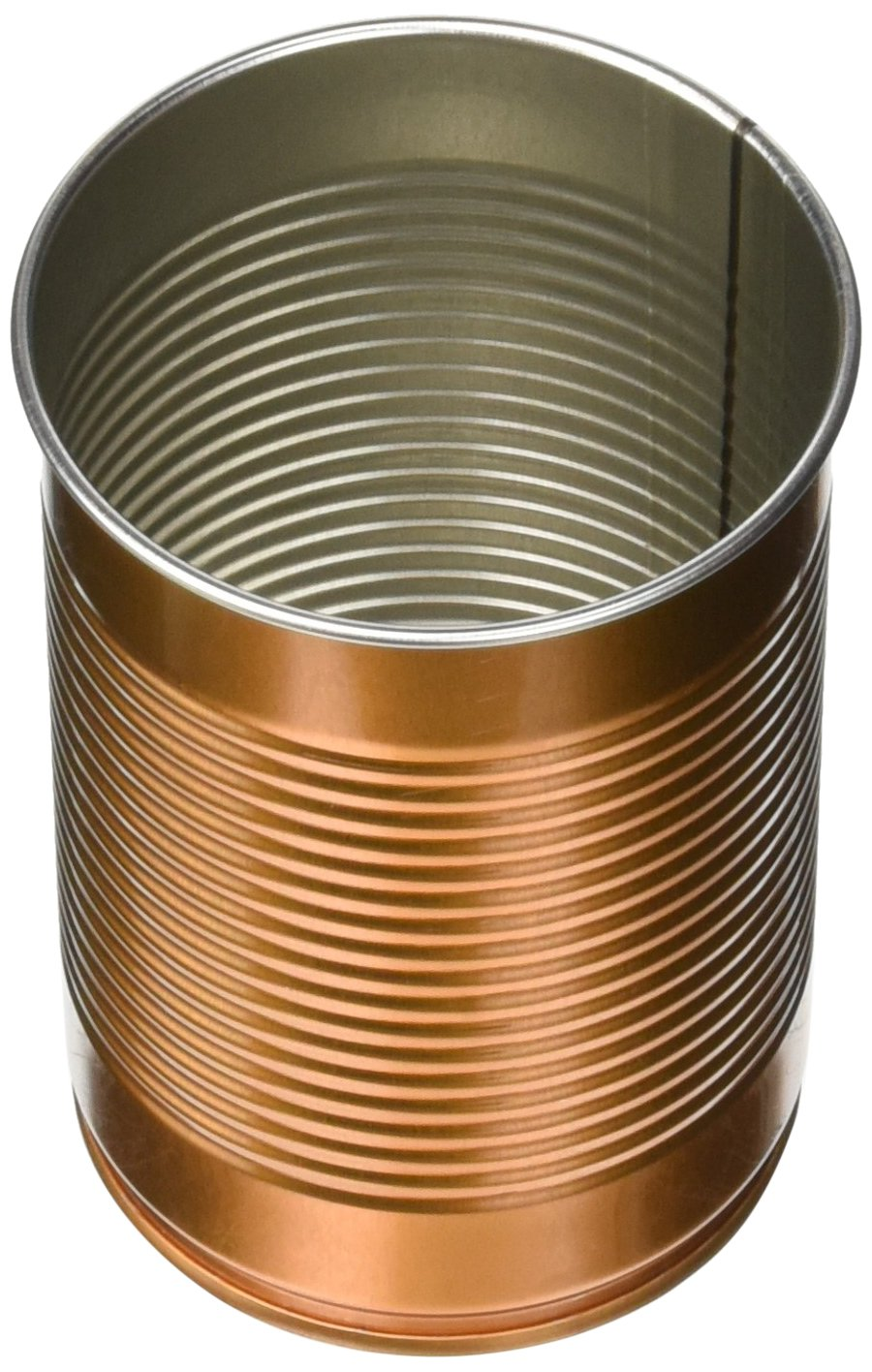 Tin Can Cocktail Cup Copper 10oz / 280ml - Set of 4 - Novelty Cocktail Mug in The Shape of a Bean Can bar@drinkstuff