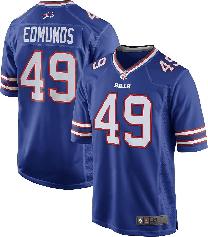 Amazon.com: Tremaine Edmunds Buffalo Bills Blue #49 Kids Youth ...
