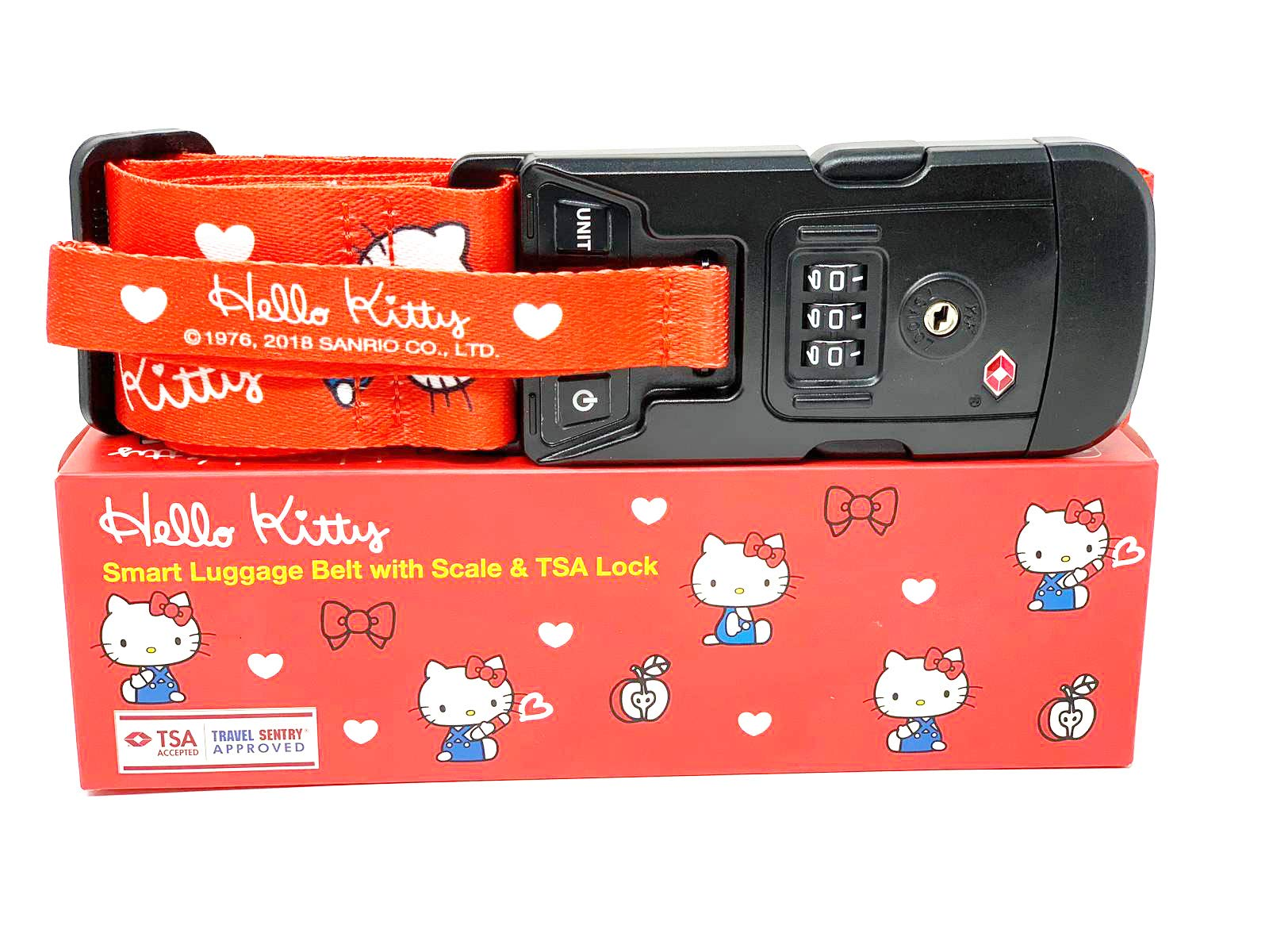 Hello Kitty Suitcase Strap with Combination Lock Japan Limited Edition by Sanrio JP