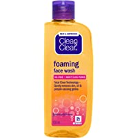 Clean & Clear Foaming Face Wash, 150 ml