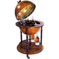 Birendy House Bar Bar Cart 45001 R, Macizo