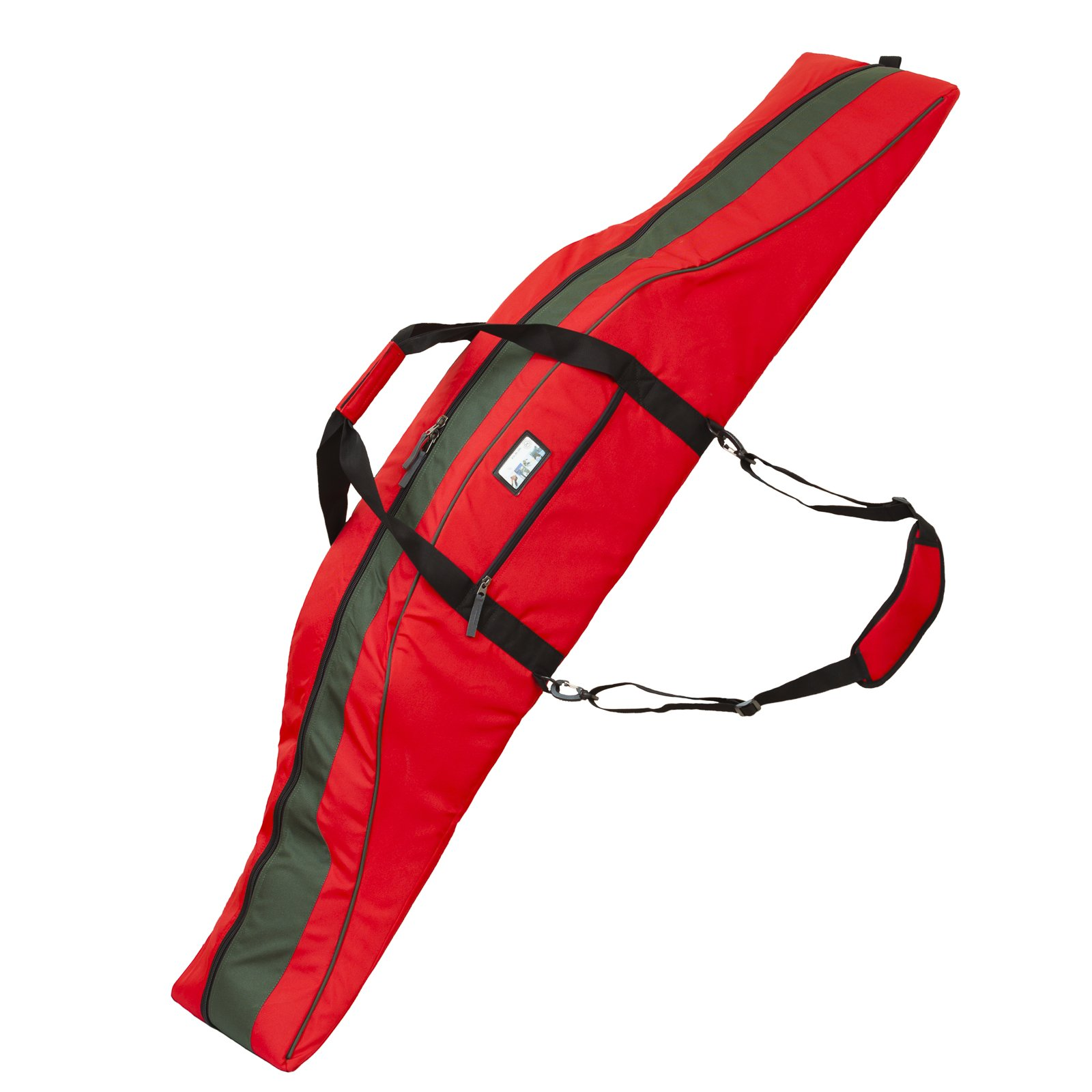 PAUL KURZ Snowboard Bag Pulse for Boards up to 70'' Length Red Black by Paul Kurz