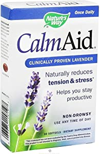 Nature's Way Calm-aid, 30 Softgels (Pack of 2)
