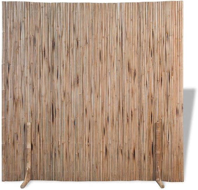 Festnight Divisor de Espacios Panel de Valla Bambú en Interiores y ...