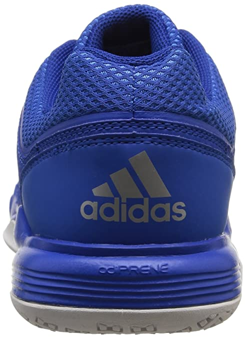 best loved cb5bc 45fa9 adidas Men s Court Stabil 12 Indoor Multisport Court Shoes, Azul   Blanco    Plata, 7 UK  Amazon.co.uk  Shoes   Bags