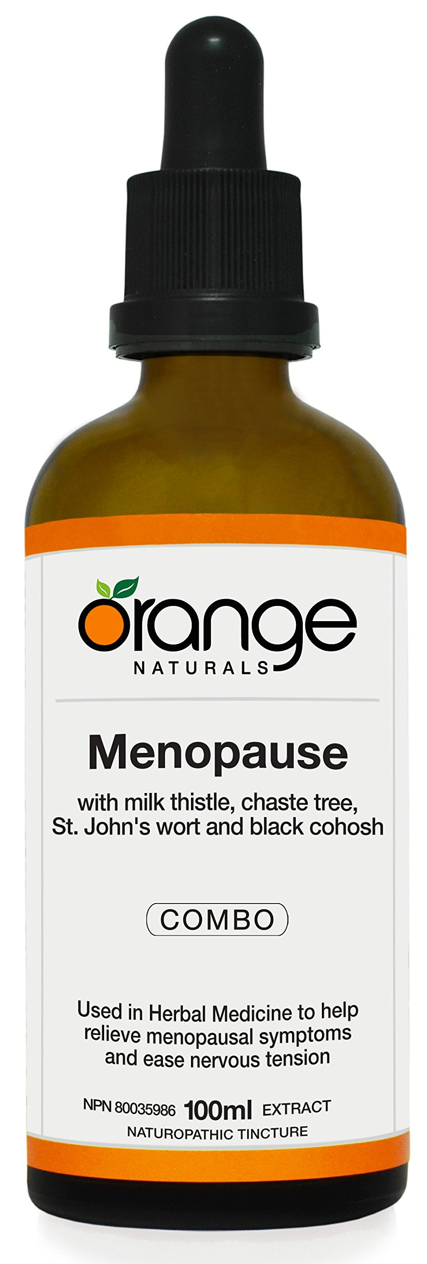 Orange Naturals Menopause Tincture, 3.38 Fluid Ounce