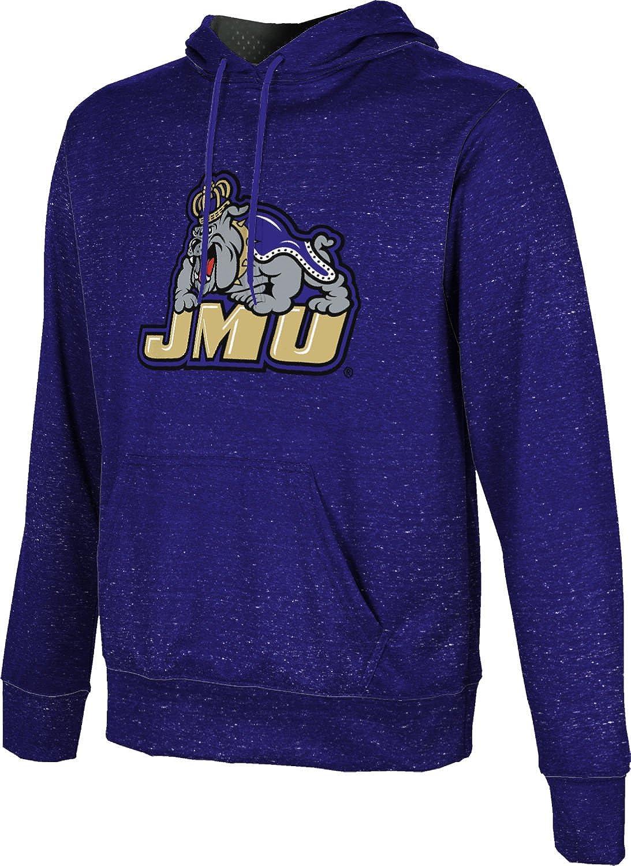 School Spirit Sweatshirt James Madison University Foundation Mens Pullover Hoodie Heather