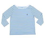 Polo Ralph Lauren Womens 3/4 Sleeve Boat Neck T-Shirt