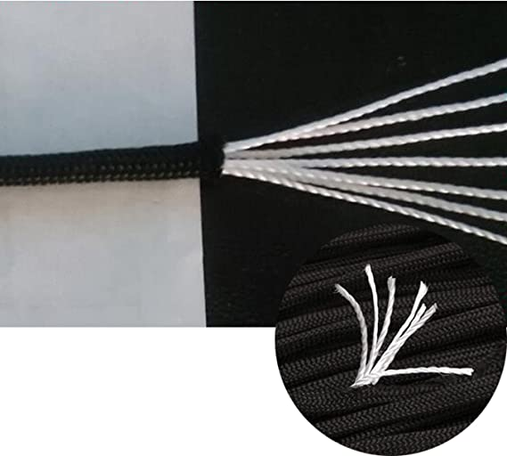 Alpinismo Llavero Wenxiaw Cuerda Paracord Set de Cuerdas de Paraca/ídas para Fabricaci/ón de Cuerdas de Supervivencia al Aire Libre Mosquet/ón 3 Metros Collar de Perro 12 Colores C/ámping