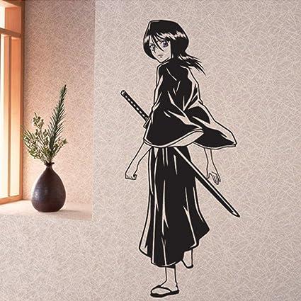 jiushizq Bleach Japonés de Dibujos Animados Pegatinas de ...
