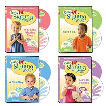 Amazoncom Baby Signing Time Dvd Collection Movies Tv