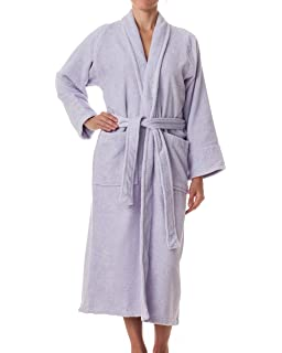 9d3ffe647f eLuxurySupply Unisex Terry Cloth Robe - 100% Long Staple Cotton Hotel Spa