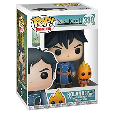 Funko POP! Games: Ni No Kuni S1 (Pop & Buddy)- Roland with Higgledies Collectible Figure: Funko Pop! & Buddy:: Toys & Games