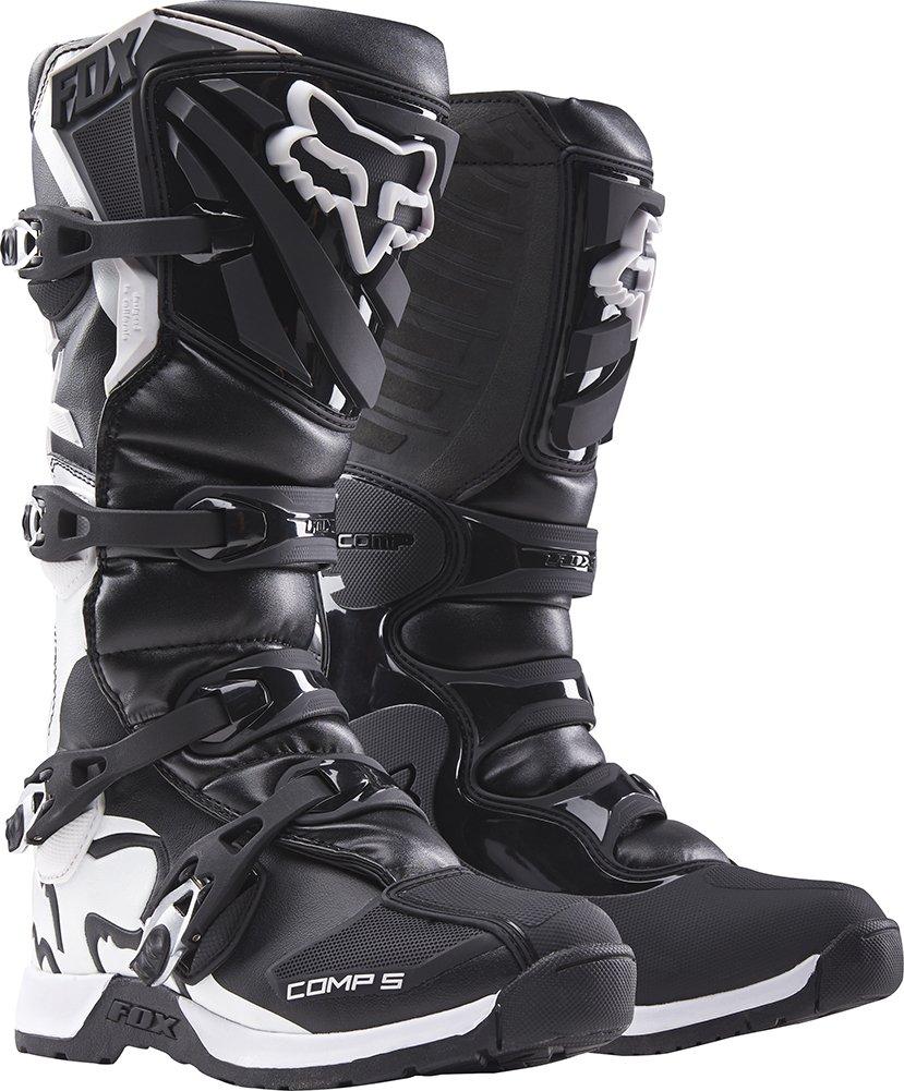 2016 Fox Racing Mens Comp 5 Boots (12, Black)