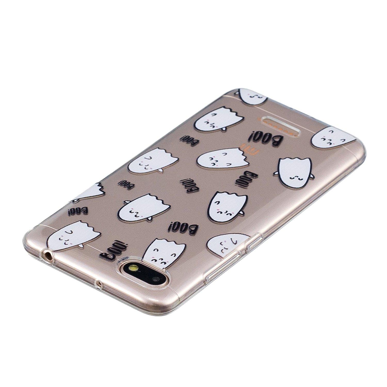 Panda de bamb/ú WolinTek Funda Xiaomi Redmi 6A Carcasa para m/óvil de TPU Gel Silicona,Case Cover Carcasa para Xiaomi Redmi 6A,Bling Silicona TPU Arena Movediza Lentejuelas Carcasa
