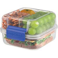 Progressive–Snaplock almuerzo contenedor to-go, azul