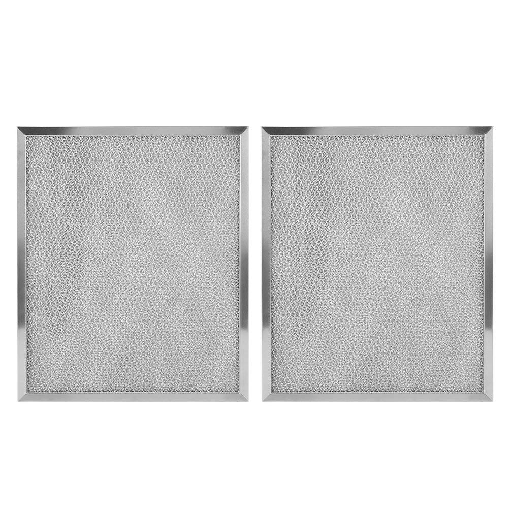 2 Pack Range Hood Filter,Range Hood Accessories replacement parts compatible with Broan Nutone Model 99010299-11-13/16 X 14-9/32 X 11/32