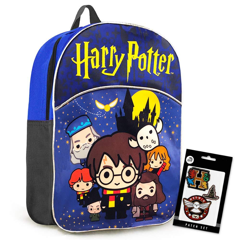 Harry Potter Backpack Preschool Toddler Kindergarten -- Deluxe Mini Harry Potter Backpack with Gift-Bag (Harry Potter School Supplies)