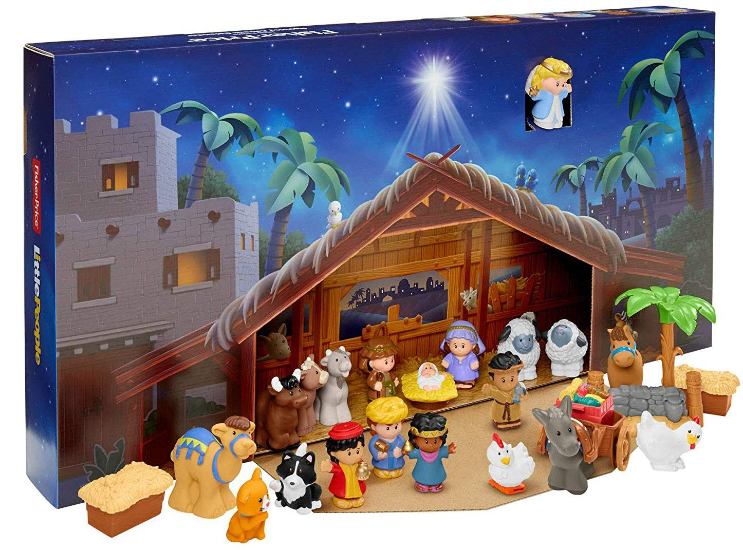 Fisher-Price Little People Nativity Advent Calendar