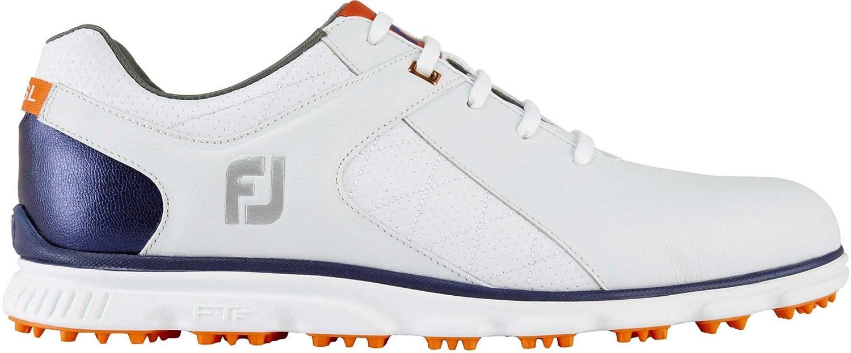 FootJoy(フットジョイ) メンズ 男性用 シューズ 靴 スニーカー 運動靴 Pro SL - White/Navy/Orange [並行輸入品] B07BMP4VCV 11 W