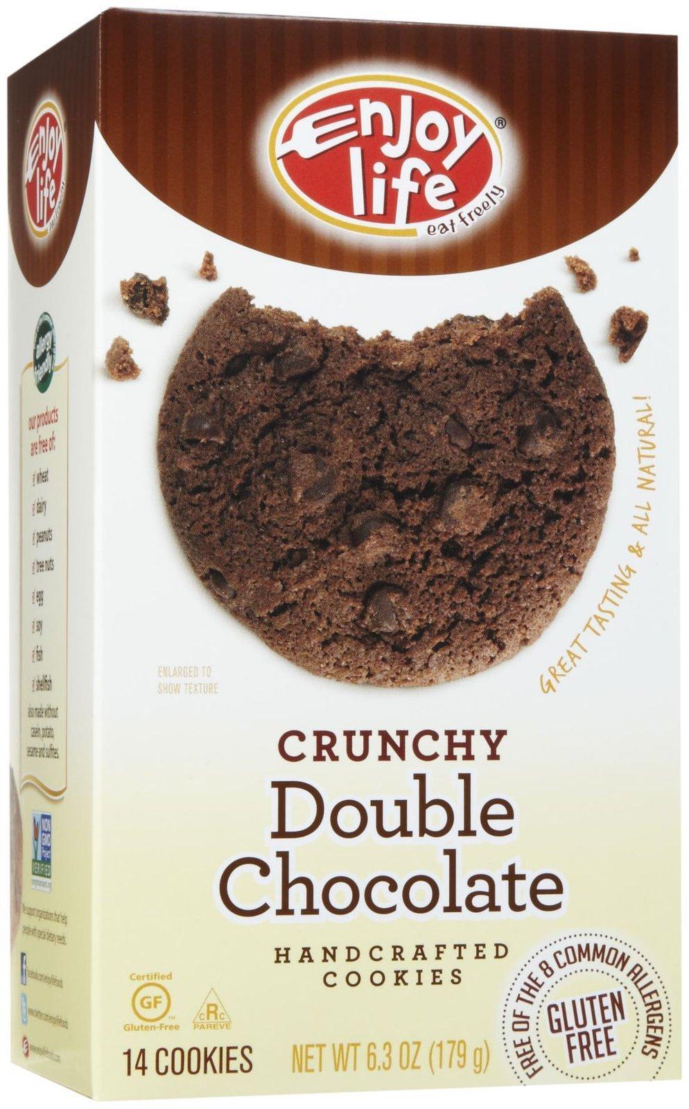 Enjoy Life Double Chocolate Cookies - 6.3 oz