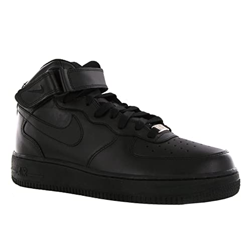 Nike SCARPE AIR FORCE NERE ALTE GS (40) 8d041576229