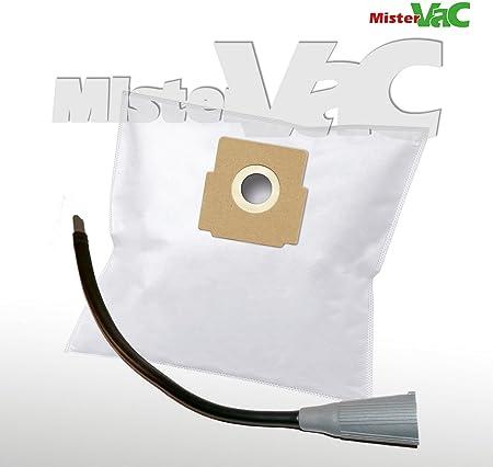10 x Bolsas de aspiradora + Flex Boquilla Adecuado Quigg BS 1700.06: Amazon.es: Hogar