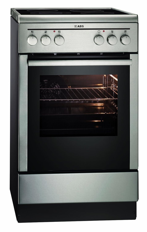 Wonderful AEG COMP 40045 VD Mn Edelstahl Standherd, Heißluft, 50cm Breit, A 10%:  Amazon.co.uk: Large Appliances
