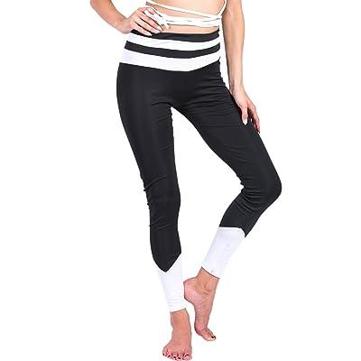 KINDOYO Collants respirants pour femmes Élasticité Yoga Pantalons Fitness  Workout Sports Leggings bb9ab773f938