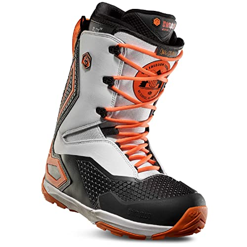 5d00bd4cc73 ThirtyTwo 2019 TM-3 Grenier (Black White Orange) Snowboard Boots-