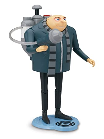 Despicable Me 2 Gru Deluxe Action Figure with H2O Shooter by ...