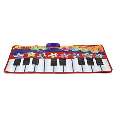 Fisher Price Music Dancin' Tunes Step-On Keyboard Toy: Toys & Games