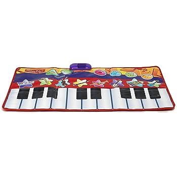 Amazon Com Little Virtuoso Romping Stomping Piano Mat