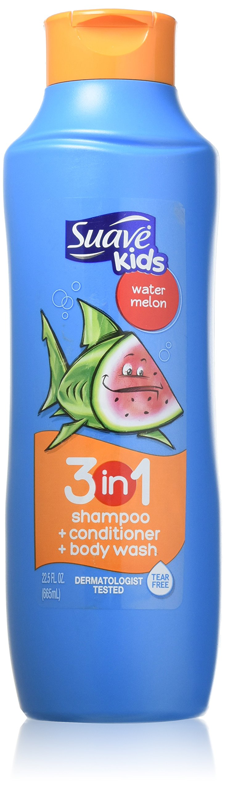 Suave Kids 3 in 1 Shampoo, Wacky Melon, 22.5 Oz (Pack of 3) by Suave