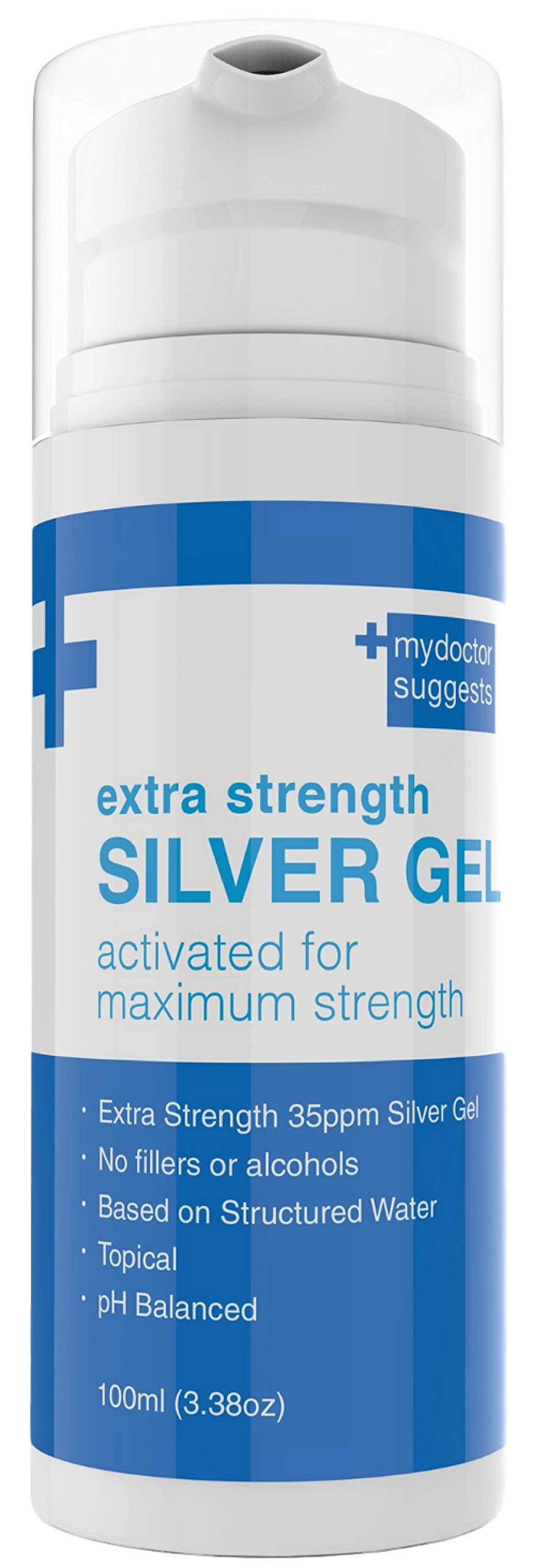 Silver Gel Extra Strong- 35ppm Advanced Silver Gel