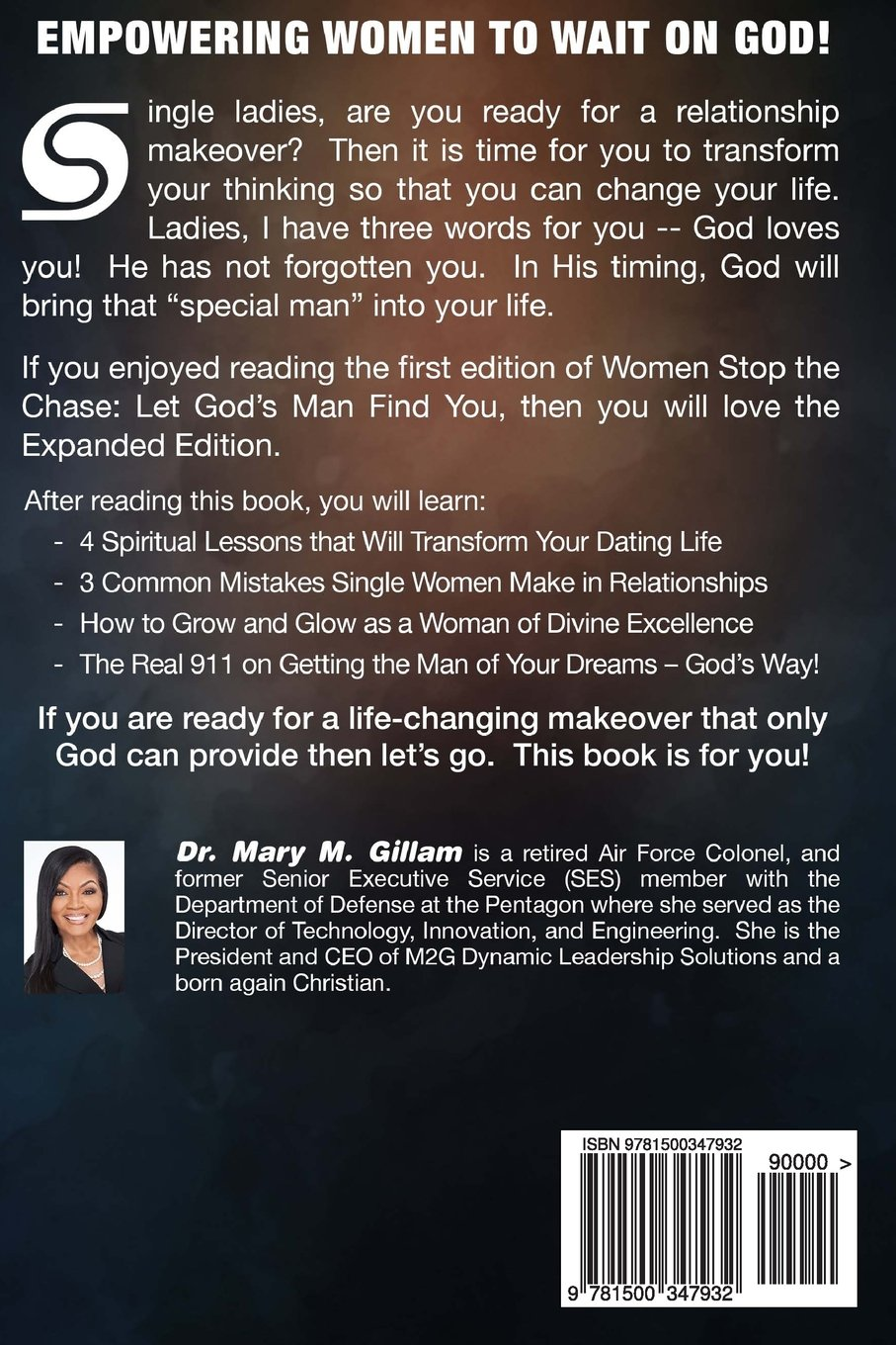 Women Stop the Chase: Let God's Man Find You Expanded