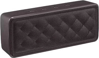 Amazon Basics - Altavoz Portátil Bluetooth, Color Negro